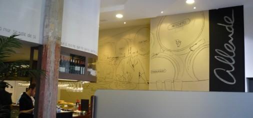 Diseño Restaurante Allende II