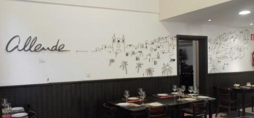 Mural. Restarante Allende (vegueta)