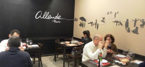 Mural. Allende Restaurant  (beach)