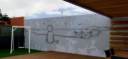 Patio / Mural